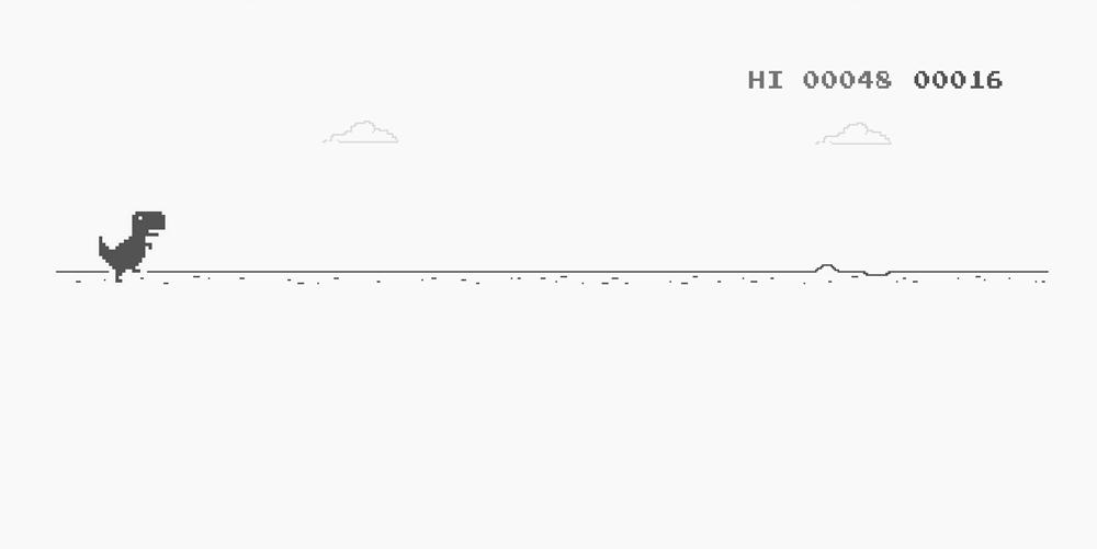 [小游戏]恐龙快跑